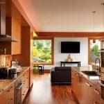 Успоредна двуредова кухня