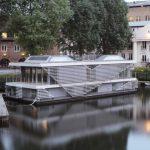 Идеята на проекта е да се използват водни площи, когато в градовете възможностите се изчерпват...