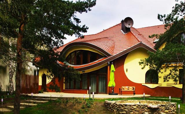 Интериорният танц на къща в Полша