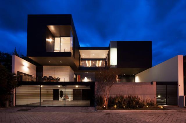 Модерна къща в Мексико