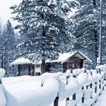 Нощни фантазии в снега