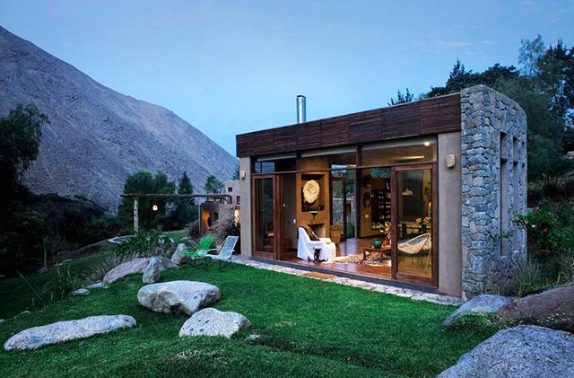 Планинска къща в Перу