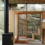 Фасадите са остъклени, за да има пряк достъп към околната панорама