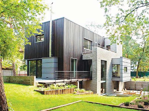Къща като архитектурна скулптура