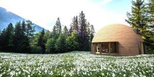 Дървена куполна къща –  домът на бъдещето!