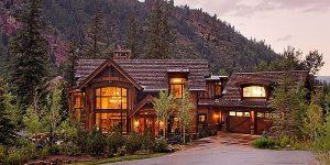 Приказка за къща в гората Вила в Аспен, Колорадо