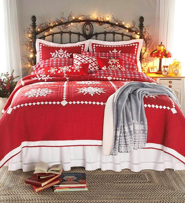 Коледа завладя и спалнята!