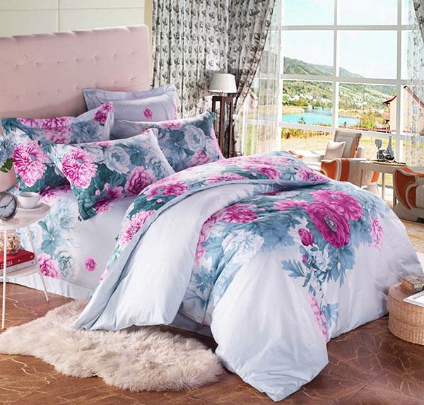 Цветя в леглото