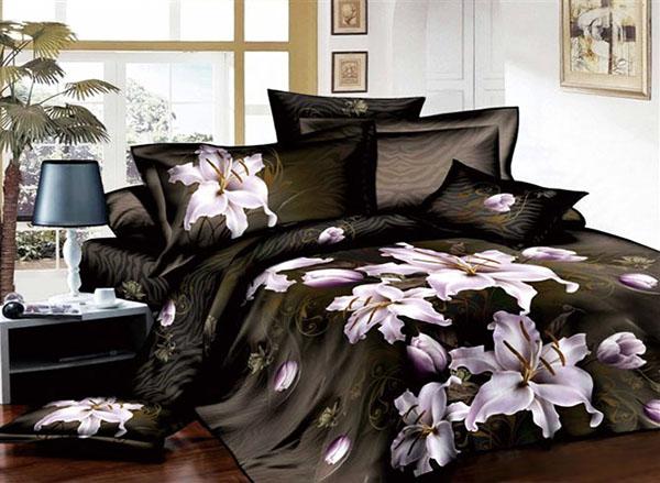 Има ли цветя в леглото до тебе