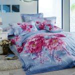 Цветя в интериорния текстил