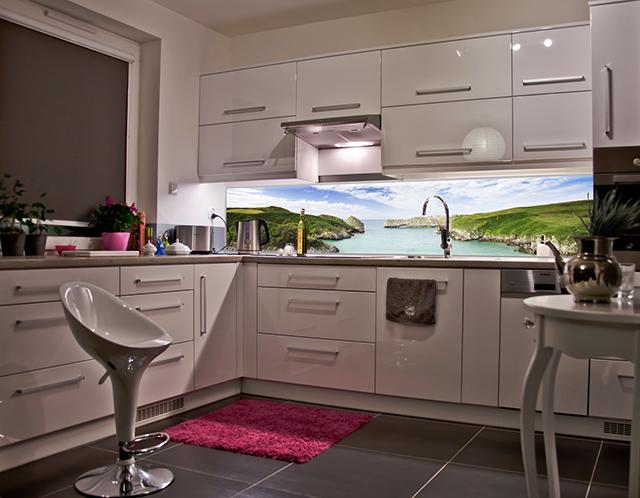 Принт гръб на кухня - Пейзаж