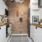 Декорация с тухлички в кухнята