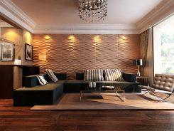 45 идеи за декорация на стени с 3D панели от XPS