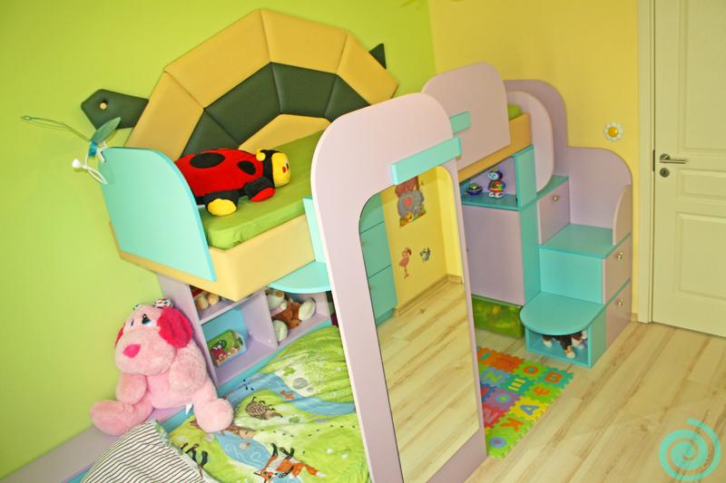 Детска стая като цветна джунгла
