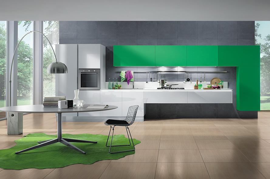 Кухнята – удобна и модерна