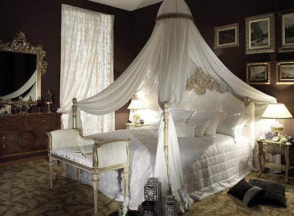 Спални с балдахин за романтици