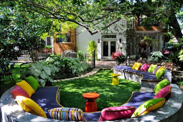 Градината като специална театрална сцена