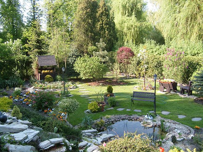 Градината - зелената визитка на всяка къща