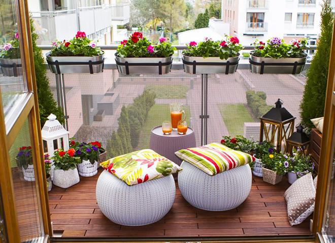 Градинка на балкона - радост не само за очите!