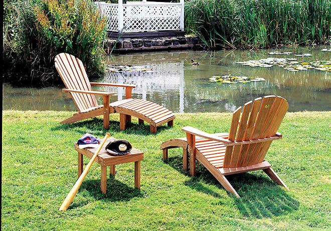 Градинските мебели - синтез на форми и романтика