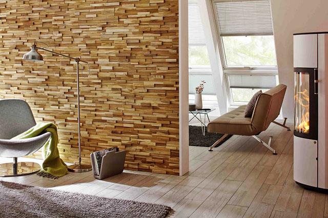 За красива и дълготрайна декорация с камък и керамични плочки: