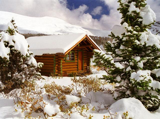 Архитектурни мечти под снега
