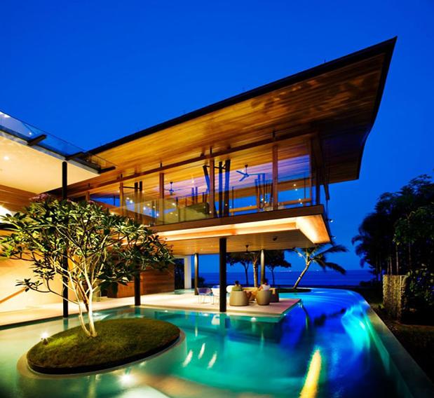 Екзотична резиденция в Сингапур