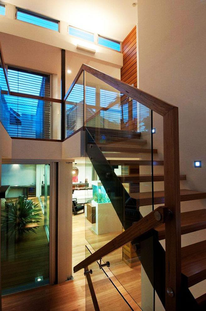 Къща като архитектурен спектакъл в Австралия