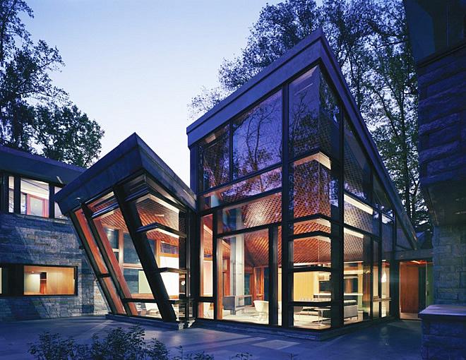 Архитектурният полет на една къща