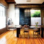 разтегателна дървена маса за повече гости