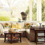Плетените мебели доскоро се смятаха единствено подходящи за градинско обзавеждане