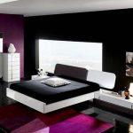 Тъмни цветове също подхождат на спалнята