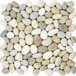Плочки с камъчета - модел Pebbles brown