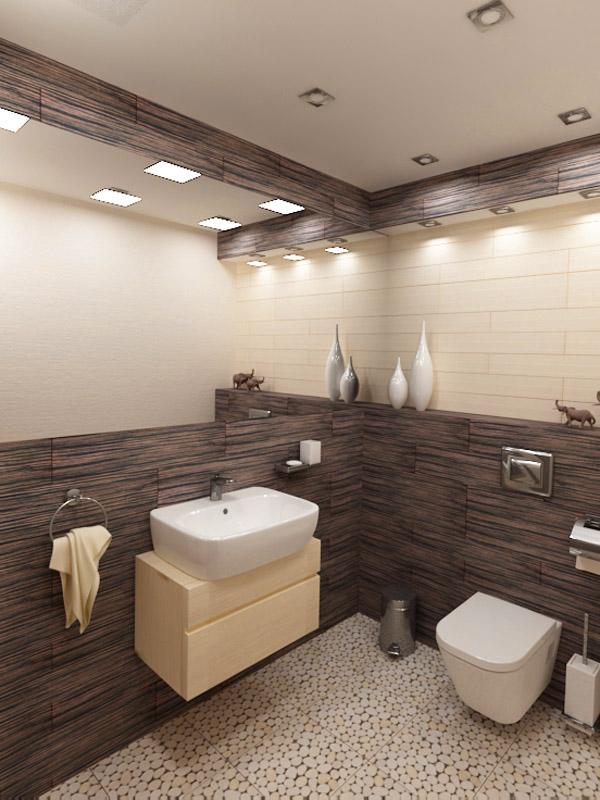 Интериорен проект на WC