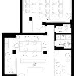 Разпределение на помещенията в офиса