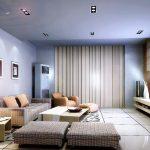 Телевизорът обикновено се разполага фронтално срещу седящия кът