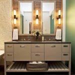 Лампи от двете страни на огледалото си взаимодействат за по-качествен образ