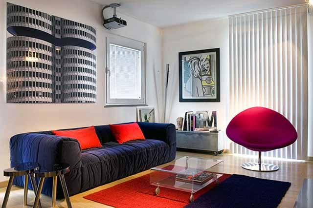 Интериор на жилище с бохемски характер
