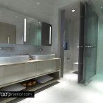 Двойна мивка в основната баня