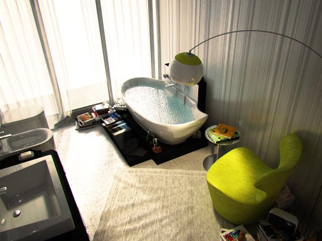 Да живееш в банята? А защо не?!