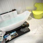 Собственикът предпочита да релаксира във вана!