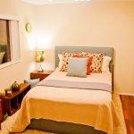 Спалня в оранжеви нюанси