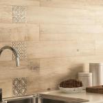 Подходящ вариант и за стената в кухнята