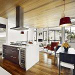 Кухня в дневната - актуална съвременна тенденция