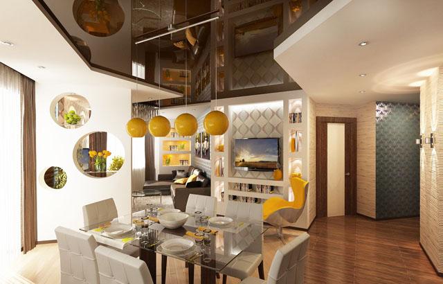 За поразително ефектен и динамичен интериор – окачени тавани