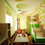 Свежи цветове и ярки акценти в детската стая