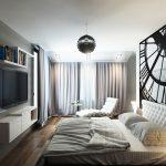 ТВ-кът срещу леглото