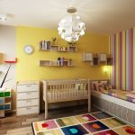 Пъстър килим в унисон с общата жизнерадостна атмосфера