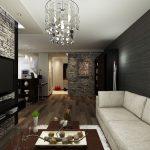 Кът за отдих с мека мебел в светли нюанси