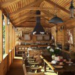 Дървена прелест на верандата